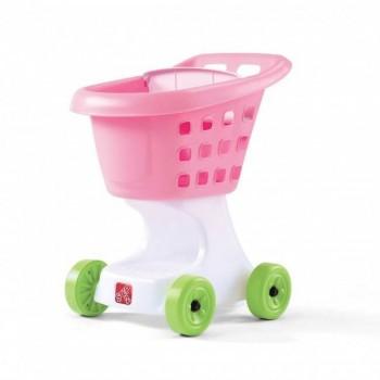 Wózek na zakupy różowy