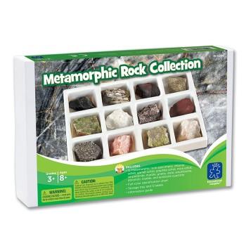 Kolekcja skał metamorficznych