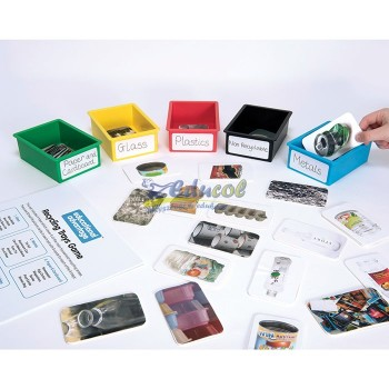 Recykling - sortowanie kart
