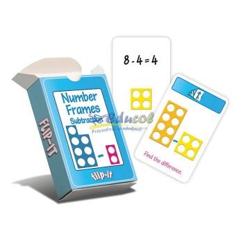 Numicon karty - odejmowanie