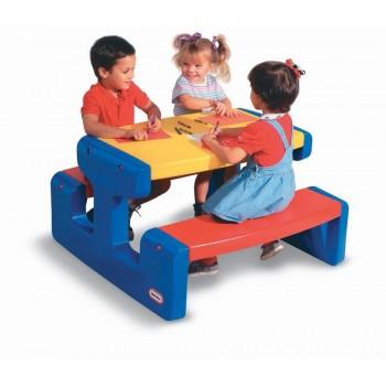 Duży stół - stolik piknikowy Little Tikes