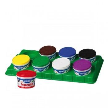 Farby do malowania palcami 340 g - zółta
