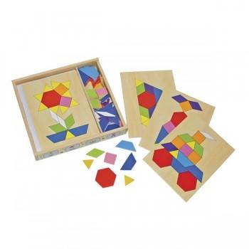Pudełko mozaiki kształtów
