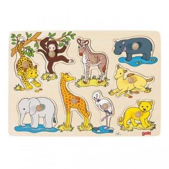 Nakładanka - Zwierzęta z Afryki