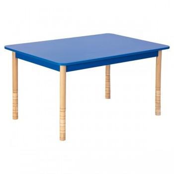 Stoły kolorowe - prostokątny - noga prosta
