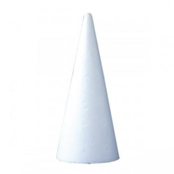 Styropianowy stożek 25 szt. 15 cm