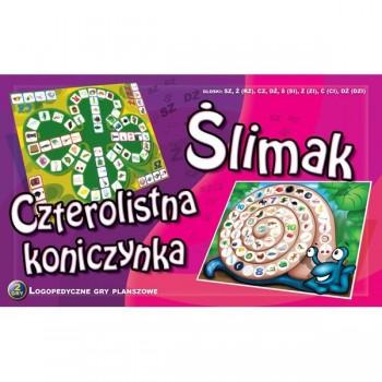 Ślimak - Czterolistna koniczynka