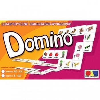 Domino logopedyczne obrazkowo-wyrazowe. Szereg SZ-CZ