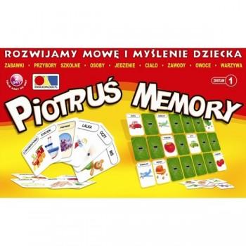 Piotruś Memory - Rozwijamy mowę i myślenie dziecka - Zestaw 1