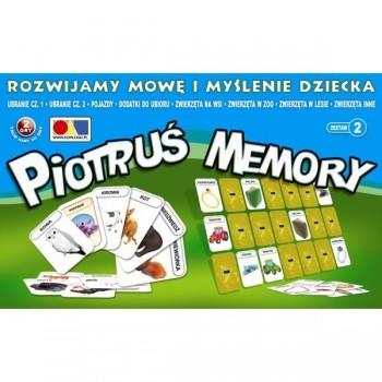 Piotruś Memory - Rozwijamy mowę i myślenie dziecka - Zestaw 2