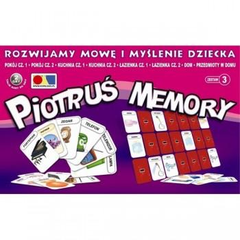 Piotruś Memory - Rozwijamy mowę i myślenie dziecka - Zestaw 3