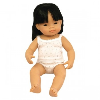 Azjata 40 cm - dziewczynka