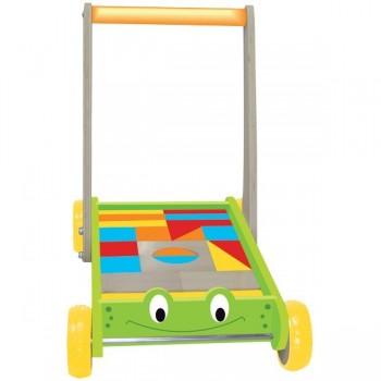 Wózek klocków Żaba