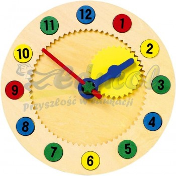 Zegar ruchomy  z magnetycznymi cyframi