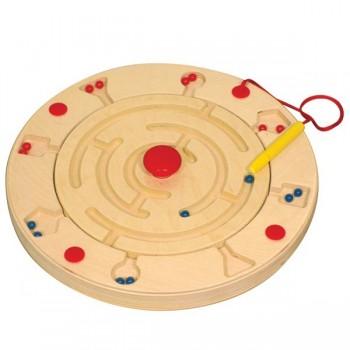 Magnetyczny labirynt z kuleczkami - rondo