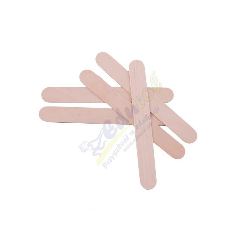 Drewniane szpatułki logopedyczne
