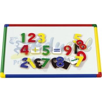 Magnetyczna tablica  z kolorowymi krawędziami