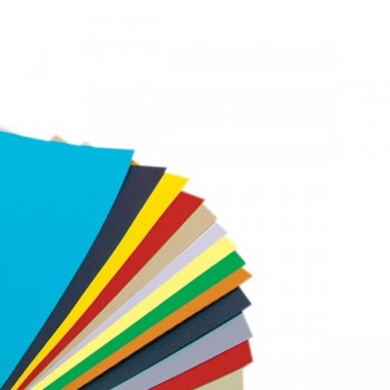 Blok techniczny A4 - kolorowy - 10 ark.