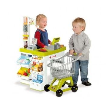Supermarket Smoby z wózkiem