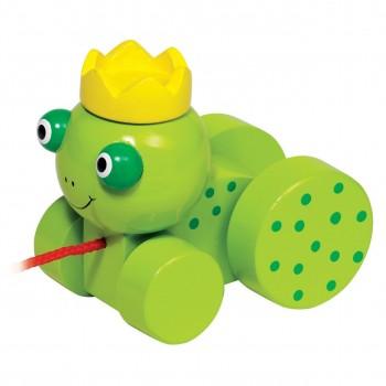 Żabka na kółkach