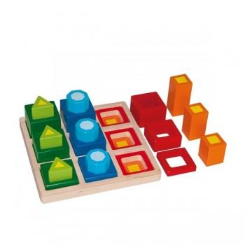 3 w 1 Puzzle w podstawie