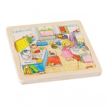 4 - warstwowe puzzle - Domowe zajęcia