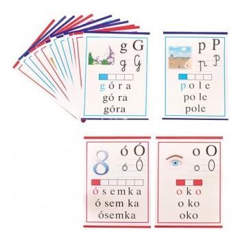 Zestaw plansz - literowo - obrazkowych