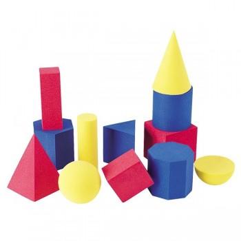 Miękkie formy geometryczne - 10 elem.