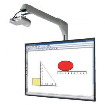 Tablice int. z projektorem i wysięgnikiem