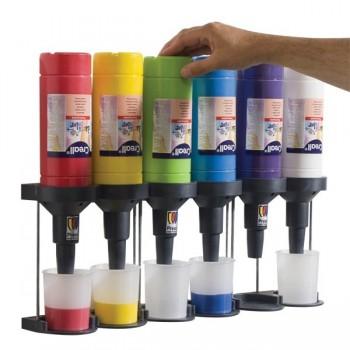 Funkcyjny podajnik do farb
