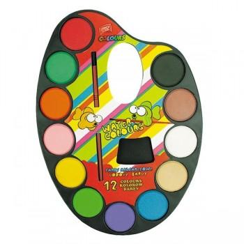 Farby akwarelowe - paleta