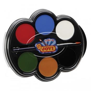 Farby do makijażu II - 6 kol.