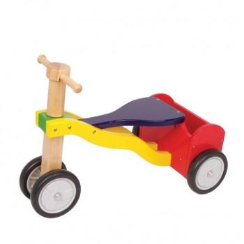 Rowerek trzykołowy ze schowkiem