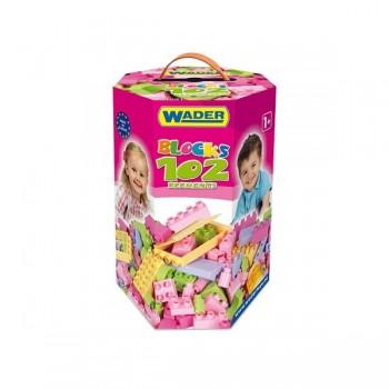 Klocki dla dziewczynek w kartonie   - 102 elem.