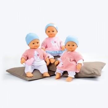 Smoby Lalka Baby Nurse 32cm z Miękkim Brzuszkiem 3 rodz.