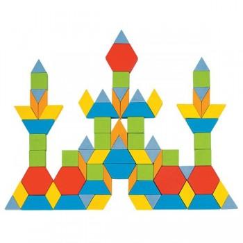 Kolorowa mozaika - 250 elem. GEO
