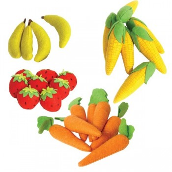 Zestaw warzyw i owoców miękkich - Maxi