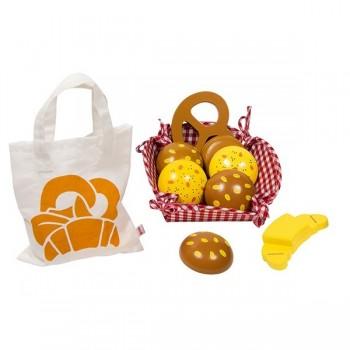 Koszyk z pieczywem + torba