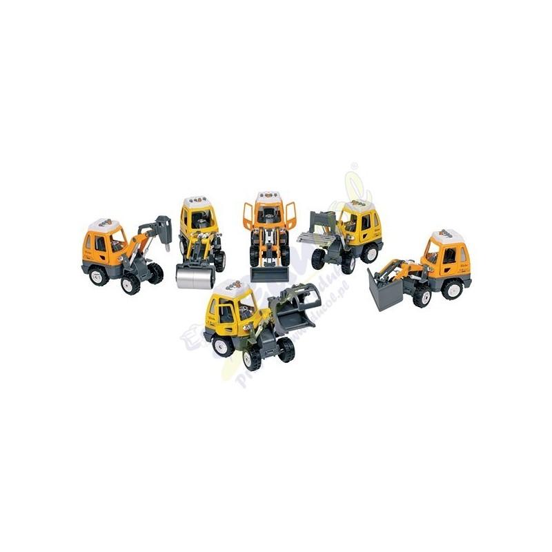 Pojazdy ratunkowe - 6 modeli