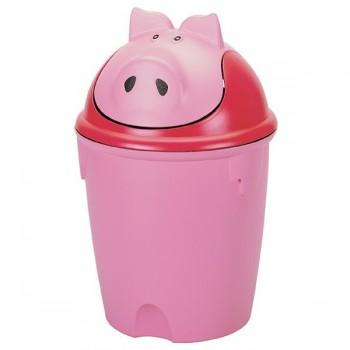 Wesołe pojemniki na śmieci - Świnka