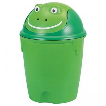 Wesołe pojemniki na śmieci - Żabka