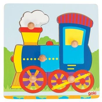 Nakładanka - Pociąg