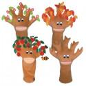 Drzewko - 4 pory roku