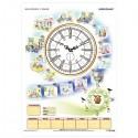 Kalendarz i zegar - plansza