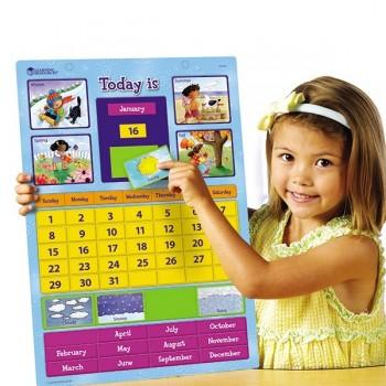 Magnetyczny angielski kalendarz