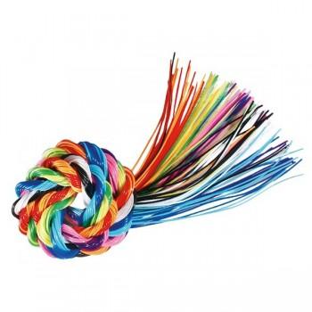 Plecionka ze sznurków