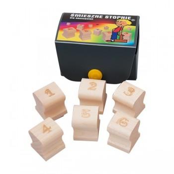 Stemple do małych dzieci w pudełku - Śmieszne oceny