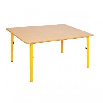 Stolik przedszkolny regulowany wysokość 59 - 76 cm