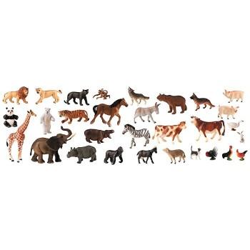 Zwierzęta z farmy oraz dżungli