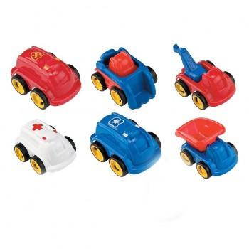 Zestaw 6 pojazdów